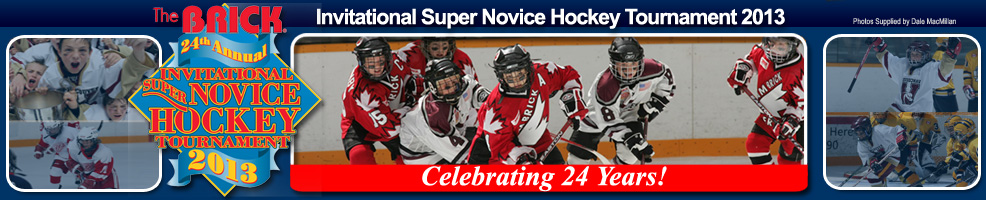 Edmonton Area Super Novice Hockey Club - Brick Invitational